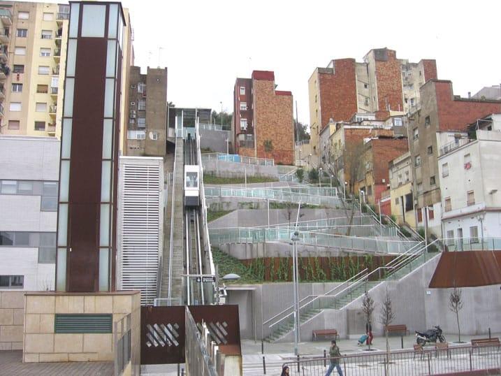 Instalación de ascensores urbanos