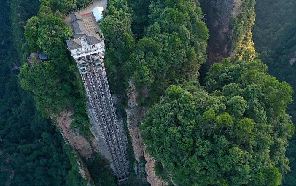 El ascensor más espectacular del planeta