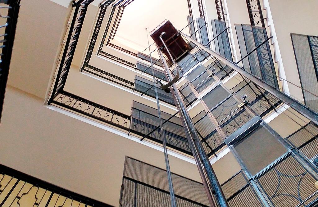 Revalorización edificio ascensor